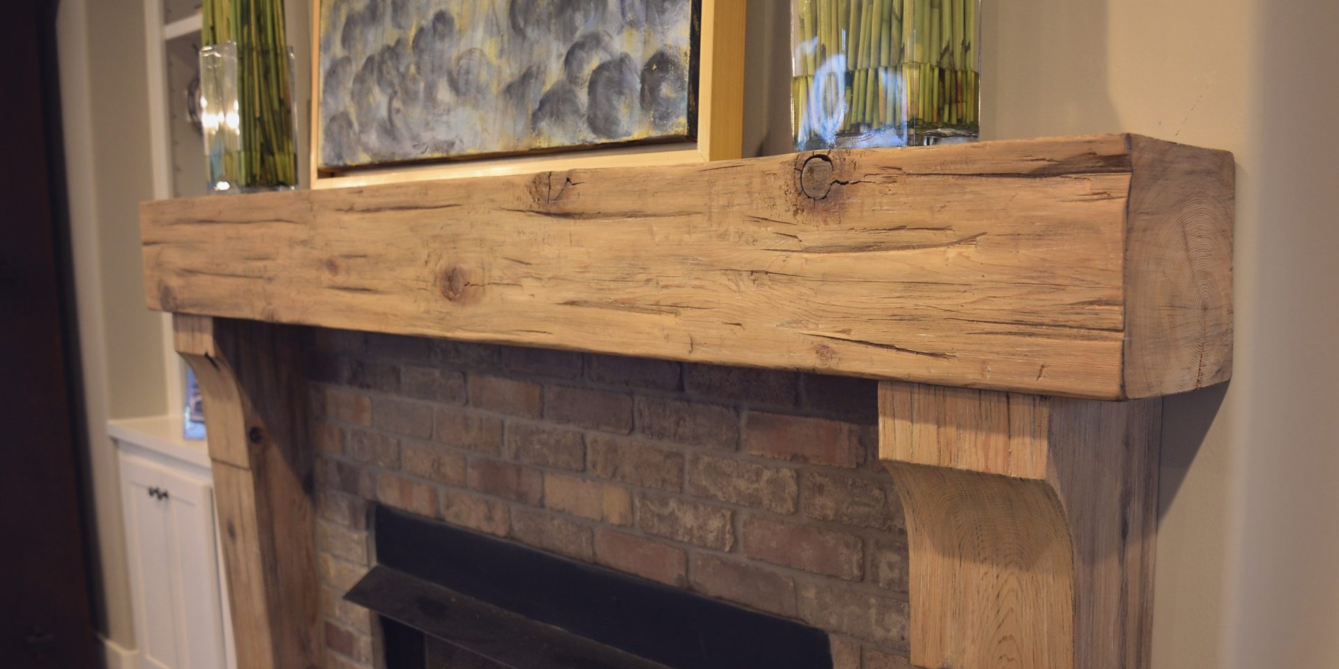 Timber Mantels | Burrus Company Wood Products